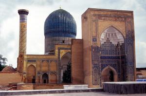 Samarkanda mausoleo Guri Amir