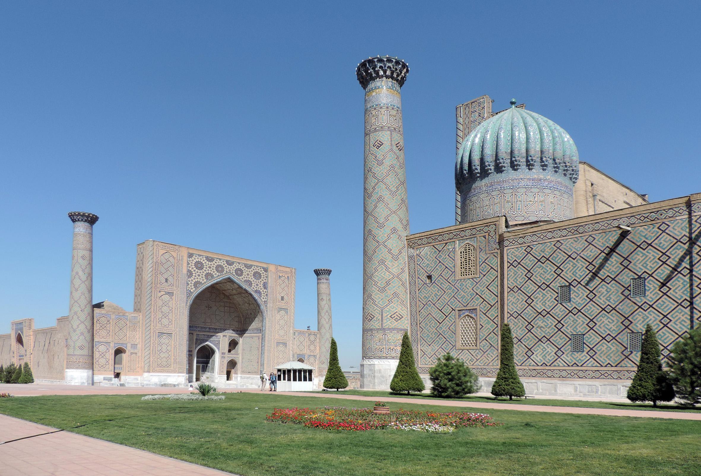 Samarcanda il Registan
