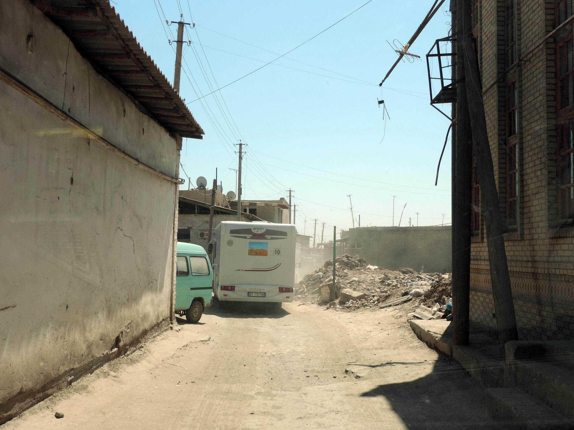 Khiva stradine