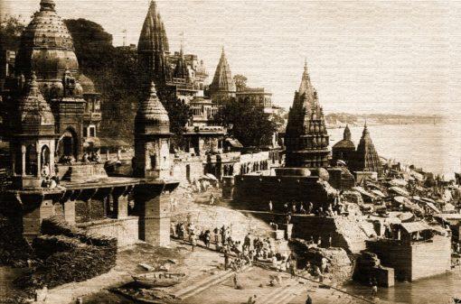 Benares stampa del 1922