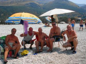 Borsh - Camping sul mare