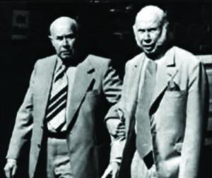 Brothers Hans (a sx) e Fritz Schlumpf