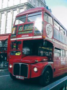 Bus rosso