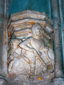 Templare nella Rosslyn Chapel