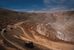 Cile miniera di Rame