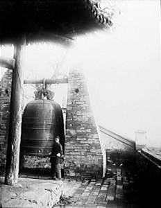 Cina 1907 La Torre della Campana a Cheng-tu