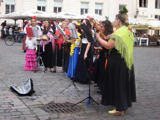 Coro in piazza