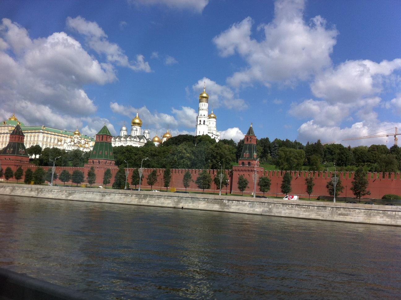 Cremlino dalla Moscova