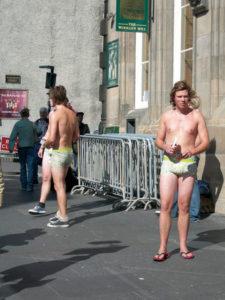 Edimburgo boys in slip