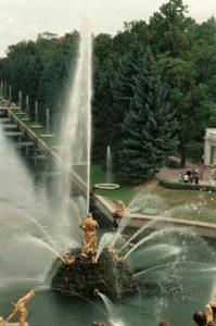 Fontana a Peterhof