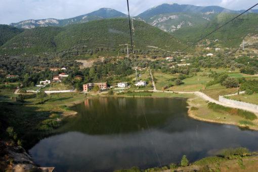 Tirana - Dalla funivia per il Monte Dajti