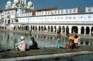 India Amristar il tempio d'oro