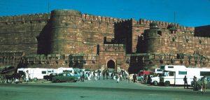 India Delhi Forte Rosso Camper