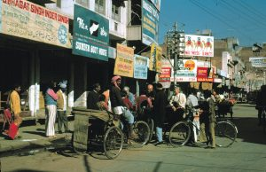 India Delhi Vecchia strada