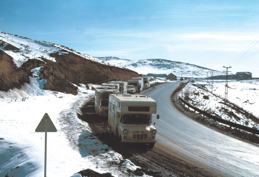 Iran Passo 40 km da Teheran