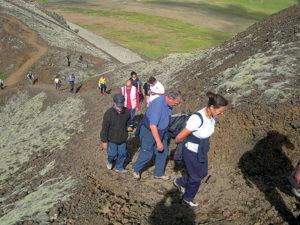 Islanda '03 Persone escursione