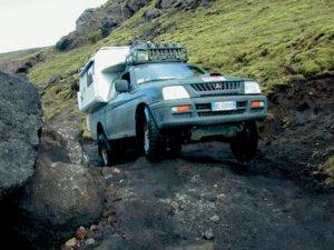 Islanda Toyota camper