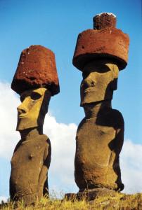 Isola Pasqua 2 Moai
