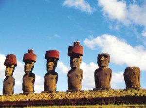 Isola di Pasqua Moai