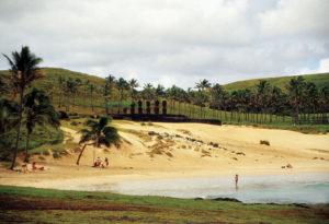 Isola di Pasqua spiaggia