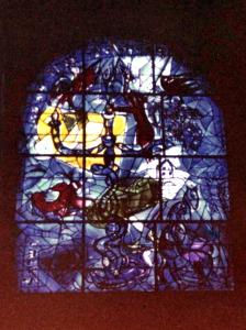 Israele 1976 Vetrata di Chagall