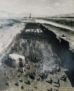 Gli scavi di Maliq - vicino a Korça