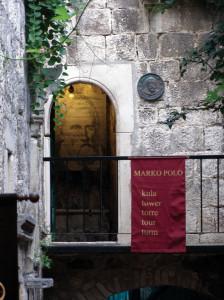 Korcula la casa di Marco Polo