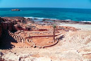 Libia Apollonia Teatro