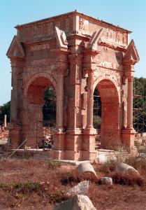 Libia Arco Settimio Severo a Leptis Magna