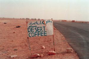 Libia Desert coffee