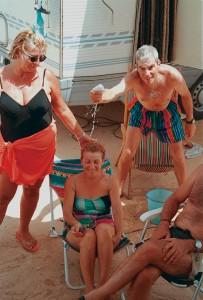 Libia Ghadames Anna, Remo fa la doccia a Stefania
