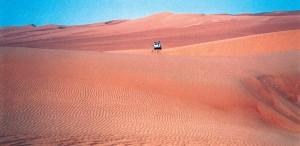 Libia Sahara Jeep