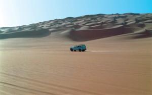 Libia Sahara Ubari Montagne di dune