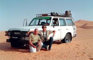 Libia Sahara Ubari Paolo e Luca