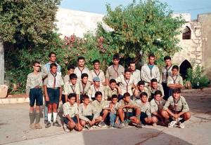 Libia boy scout