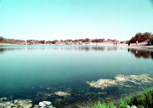 Il lago di Mujazin.