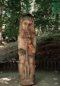 Lituania parco delle sculture a Palanga