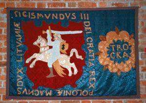 Lituania Trakai Arazzo Cavaliere