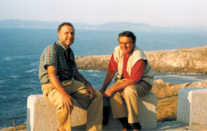 Luciano Tancredi e Nino Grazzani a La Corugna Spagna