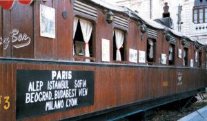 Damasco un vagone dell'Orient Express 1997