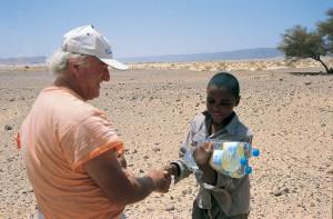 Overland Bambino con acqua