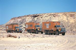 Overland fondo 3 camion