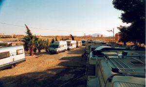 Palmyra Area di sosta all'Hotel Zenobia