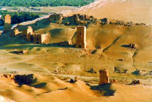 Palmyra Tombe dal Castello di Qalaat