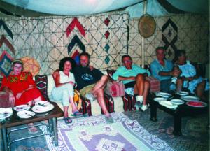 Palmyra Cena nella tenda beduina