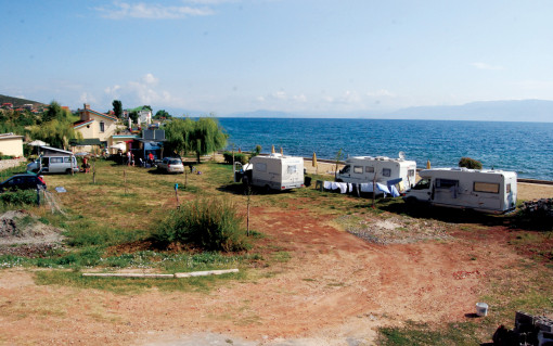 Pogradec - Camping Peschku