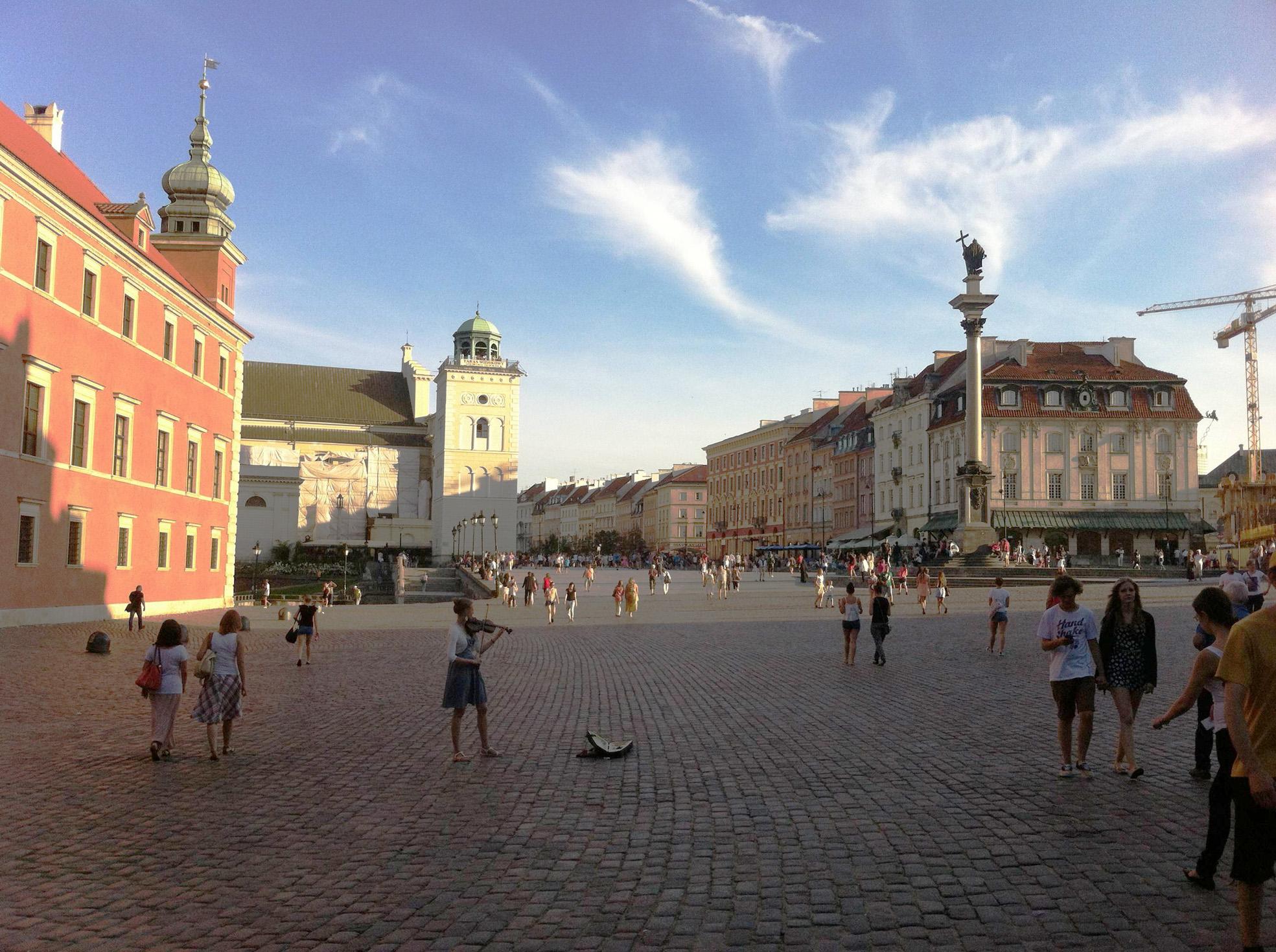Polonia, Varsavia