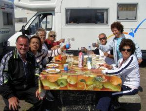 Olanda pranzo grande diga