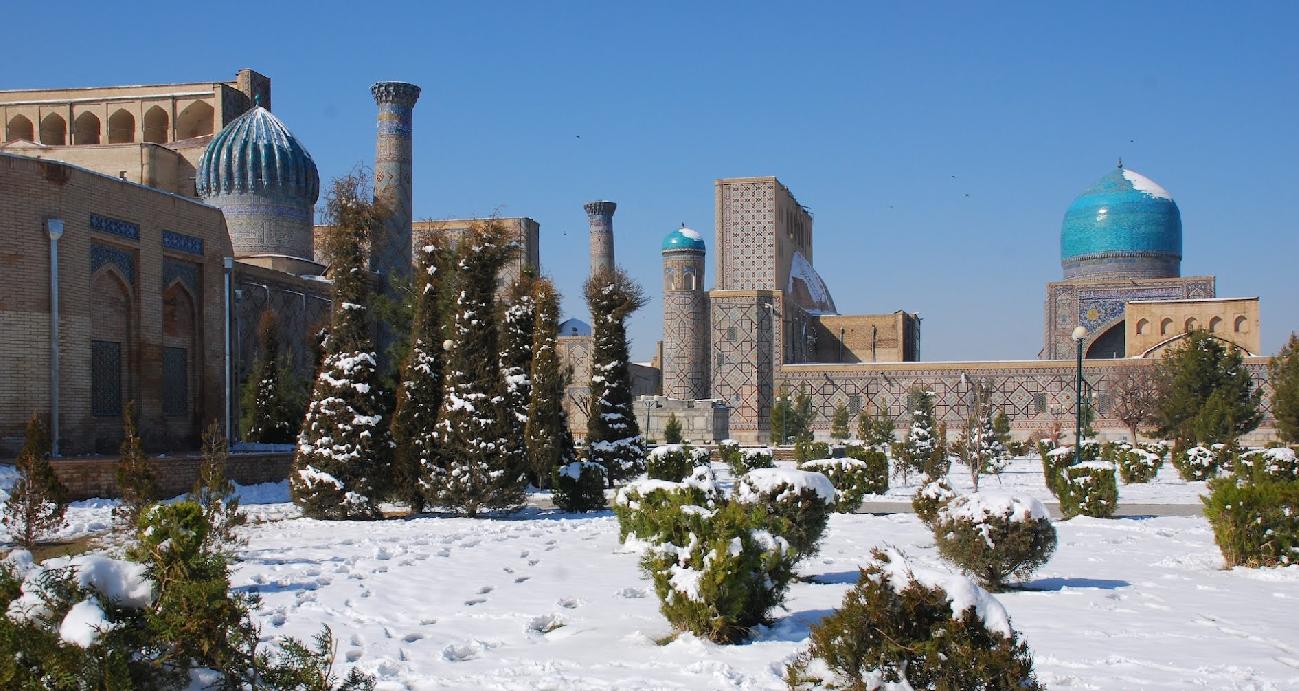 Samarcanda a Natale 2014
