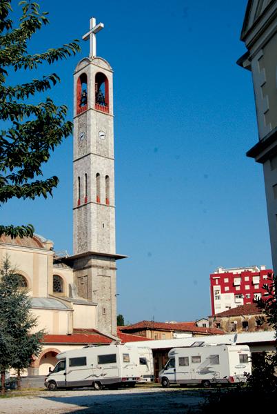 Scutari - Chiesa di San Francesco